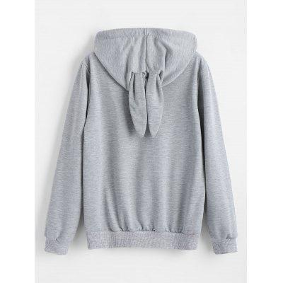 Cartoon Chase Bunny HoodieSweatshirts &amp; Hoodies<br>Cartoon Chase Bunny Hoodie<br><br>Clothing Style: Hoodie<br>Material: Polyester<br>Package Contents: 1 x Hoodie<br>Pattern Style: Character<br>Shirt Length: Regular<br>Sleeve Length: Full<br>Weight: 0.4700kg