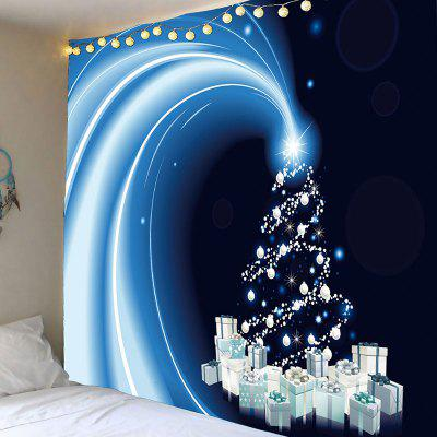 Starlight Christmas Gifts Pattern Wall Art Tapestry