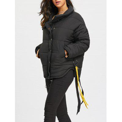 Padded Drop Shoulder Jacket