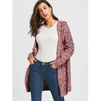 Heathered Front Pocket Hooded Knit CardiganSweaters &amp; Cardigans<br>Heathered Front Pocket Hooded Knit Cardigan<br><br>Collar: Hooded<br>Embellishment: Pockets<br>Material: Polyester<br>Package Contents: 1 x Cardigan<br>Pattern Type: Others<br>Season: Fall, Spring<br>Sleeve Length: Full<br>Style: Fashion<br>Type: Cardigans<br>Weight: 0.8500kg