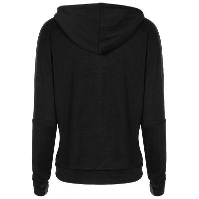 Drop Shoulder Letters Print HoodieSweatshirts &amp; Hoodies<br>Drop Shoulder Letters Print Hoodie<br><br>Material: Polyester<br>Package Contents: 1 x Hoodie<br>Pattern Style: Letter,Print<br>Season: Spring, Winter, Fall<br>Shirt Length: Regular<br>Sleeve Length: Full<br>Style: Casual<br>Weight: 0.3600kg