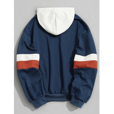 Color Block Mens HoodieMens Hoodies &amp; Sweatshirts<br>Color Block Mens Hoodie<br><br>Material: Polyester<br>Package Contents: 1 x Hoodie<br>Pattern Type: Others<br>Shirt Length: Regular<br>Sleeve Length: Full<br>Style: Casual<br>Weight: 0.7450kg
