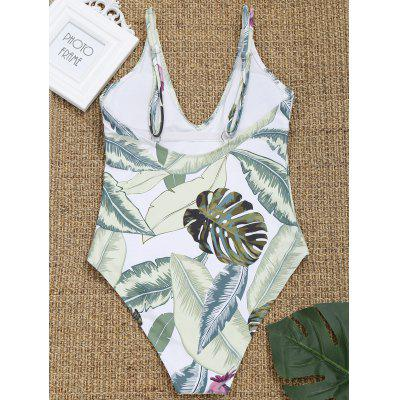 Leaf Print High Cut Cami SwimwearLingerie &amp; Shapewear<br>Leaf Print High Cut Cami Swimwear<br><br>Bra Style: Padded<br>Elasticity: Elastic<br>Gender: For Women<br>Material: Chinlon<br>Neckline: Spaghetti Straps<br>Package Contents: 1 x Swimwear<br>Pattern Type: Leaf<br>Support Type: Wire Free<br>Swimwear Type: One Piece<br>Waist: Natural<br>Weight: 0.2500kg
