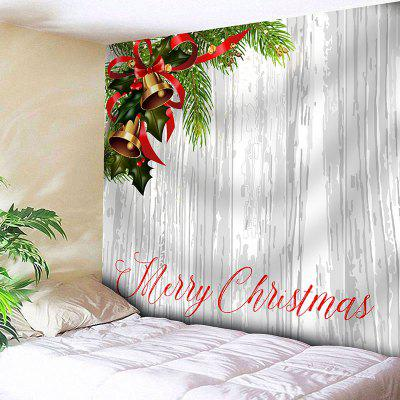 Merry Christmas Bells Print Wall Hanging Tapestry