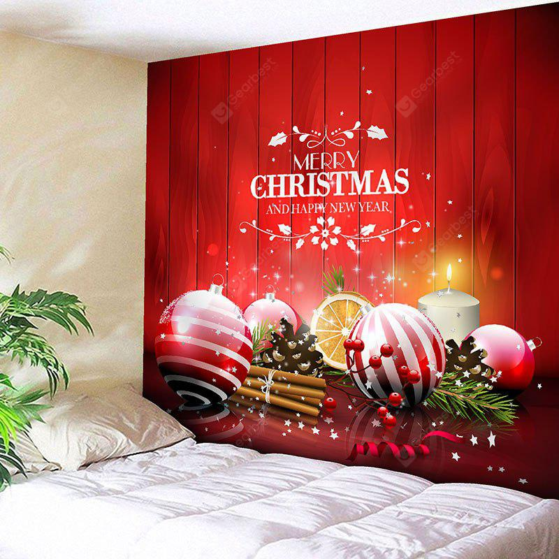 Wall Hanging Christmas Balls Pattern Tapestry