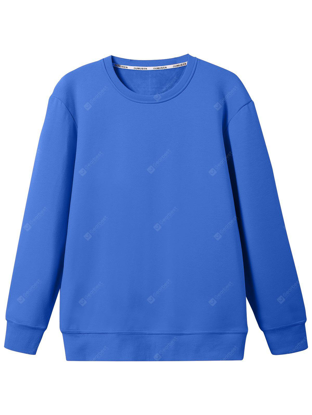 Wool Blend Mens Sweatshirt