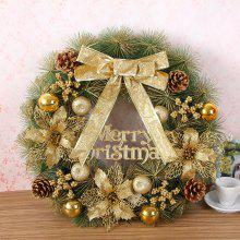 Home Decorations 50CM Balls Merry Christmas Wreath