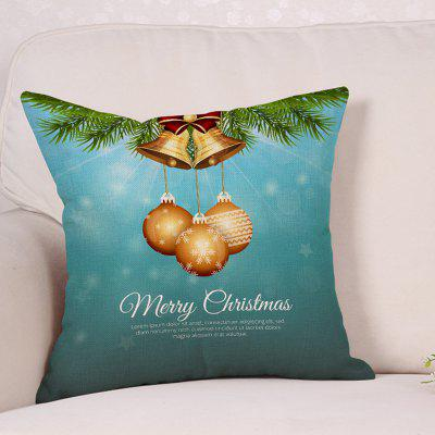 Christmas Bells Baubles Print Decorative Sofa PillowcasePillow<br>Christmas Bells Baubles Print Decorative Sofa Pillowcase<br><br>Material: Linen<br>Package Contents: 1 x Pillowcase<br>Pattern: Baubles<br>Shape: Square<br>Style: Festival<br>Weight: 0.1200kg