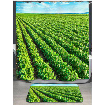Tea Garden Printed Shower CurtainShower Curtain<br>Tea Garden Printed Shower Curtain<br><br>Materials: Polyester<br>Number of Hook Holes: W59 inch * L71 inch:10, W71 inch * L71 inch:12, W71 inch * L79 inch:12<br>Package Contents: 1 x Shower Curtain 1 x Hooks (Set)<br>Pattern: Plant<br>Products Type: Shower Curtains<br>Style: Natural