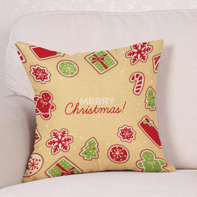 Christmas Cartoon Theme Print Decorative Linen Sofa PillowcasePillow<br>Christmas Cartoon Theme Print Decorative Linen Sofa Pillowcase<br><br>Material: Linen<br>Package Contents: 1 x Pillowcase<br>Pattern: Cartoon,Letter<br>Shape: Square<br>Style: Festival<br>Weight: 0.1200kg