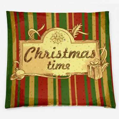 Christmas Time Striped Double Sided Printed Decorative PillowcasePillow<br>Christmas Time Striped Double Sided Printed Decorative Pillowcase<br><br>Material: Polyester / Cotton<br>Package Contents: 1 x Pillowcase<br>Pattern: Letter,Striped<br>Shape: Square<br>Style: Festival<br>Weight: 0.1000kg