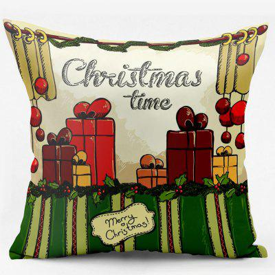Christmas Gift Double Sided Printed Decorative Pillowcase