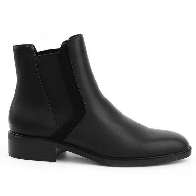 Almond Toe Ankle Chelsea Boots