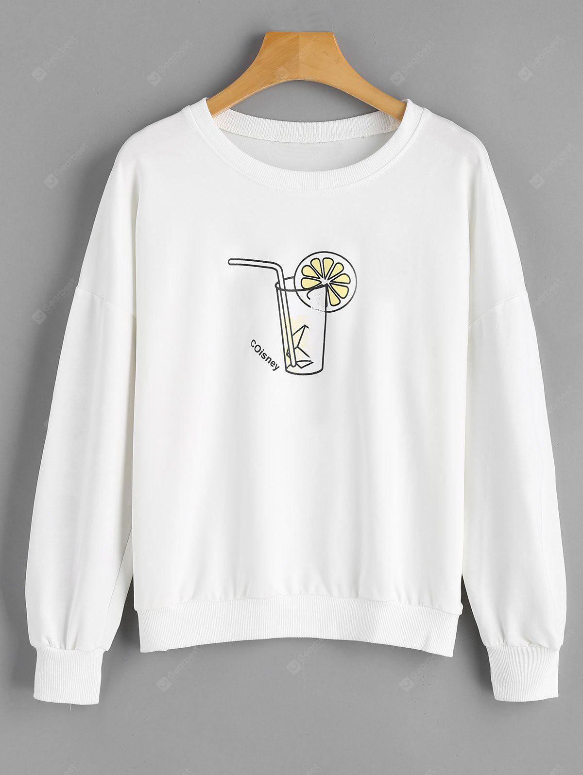 Cola Letter Cute Sweatshirt