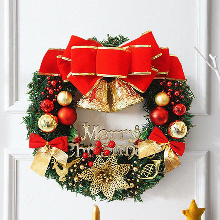 Home Decorations 30CM Bells Merry Christmas Wreath