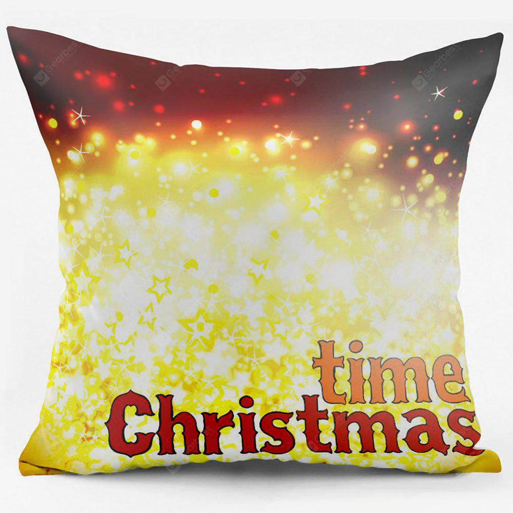 Christmas Time Double Sided Printing Decorative Pillow Case