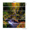 Forest Stream Printed 6Pcs Stair Stickers - COLORFUL