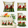 Christmas Gift Double Sided Printed Decorative Pillowcase - COLORMIX