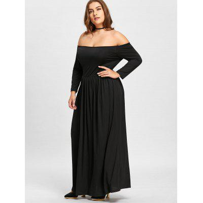 Plus Size Off The Shoulder Empire Waist Maxi Formal DressPlus Size Dresses<br>Plus Size Off The Shoulder Empire Waist Maxi Formal Dress<br><br>Dresses Length: Floor-Length<br>Material: Cotton Blend, Polyester<br>Neckline: Off The Shoulder<br>Package Contents: 1 x Dress<br>Pattern Type: Solid Color<br>Season: Winter, Fall<br>Silhouette: Ball Gown<br>Sleeve Length: 3/4 Length Sleeves<br>Style: Brief<br>Waist: Empire<br>Weight: 0.5500kg<br>With Belt: No