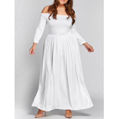 Taille Plus Off The Empire taille Empire Maxi Dress formelle