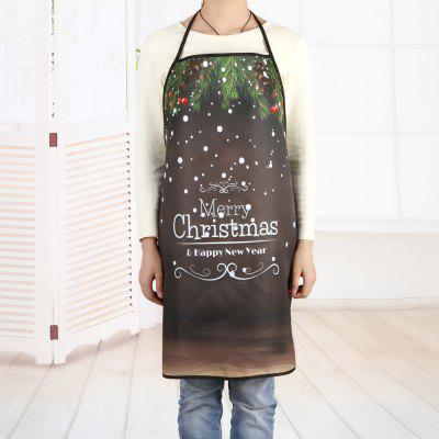 Merry Christmas Letter Print Polyester Waterproof ApronCookware<br>Merry Christmas Letter Print Polyester Waterproof Apron<br><br>Material: Polyester<br>Package Contents: 1 x Apron<br>Pattern Type: Letter<br>Type: Apron<br>Weight: 0.0800kg