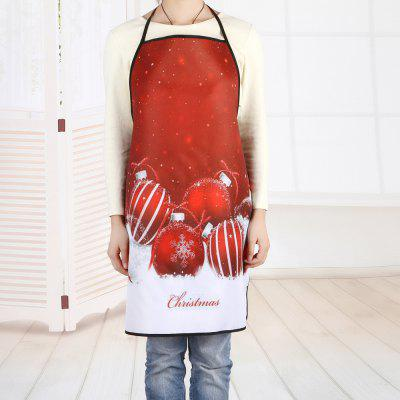 Christmas Balls Printed Waterproof Polyester Kitchen ApronCookware<br>Christmas Balls Printed Waterproof Polyester Kitchen Apron<br><br>Material: Polyester<br>Package Contents: 1 x Apron<br>Type: Apron<br>Weight: 0.0800kg