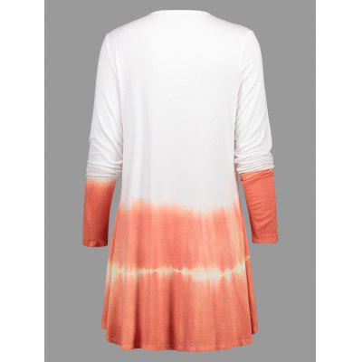 Tie Dye Long CardiganSweaters &amp; Cardigans<br>Tie Dye Long Cardigan<br><br>Collar: Collarless<br>Material: Polyester, Spandex<br>Package Contents: 1 x Cardigan<br>Pattern Type: Others<br>Season: Spring, Fall<br>Sleeve Length: Full<br>Style: Fashion<br>Type: Cardigans<br>Weight: 0.3800kg
