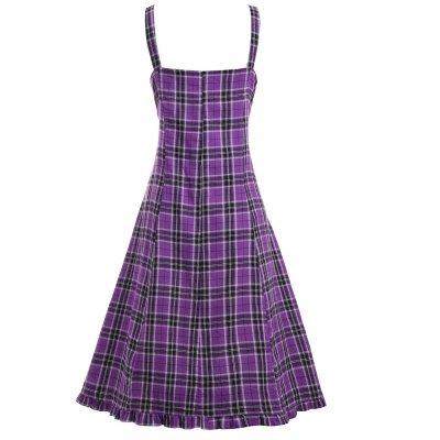 Plus Size Plaid Lace Up Corset Waist DressPlus Size Dresses<br>Plus Size Plaid Lace Up Corset Waist Dress<br><br>Dresses Length: Knee-Length<br>Material: Polyester<br>Neckline: Square Collar<br>Package Contents: 1 x Dress<br>Pattern Type: Plaid<br>Season: Spring, Fall<br>Silhouette: A-Line<br>Sleeve Length: Sleeveless<br>Style: Preppy Style<br>Waist: Empire<br>Weight: 0.3500kg<br>With Belt: No