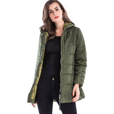 Hooded Long Zip Up Down CoatJackets &amp; Coats<br>Hooded Long Zip Up Down Coat<br><br>Clothes Type: Padded<br>Collar: Hooded<br>Material: Polyester<br>Package Contents: 1 x Coat<br>Pattern Type: Solid<br>Season: Winter<br>Shirt Length: Long<br>Sleeve Length: Full<br>Style: Fashion<br>Type: Slim<br>Weight: 0.6800kg
