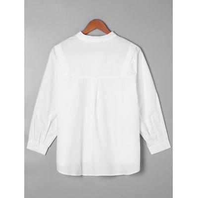 Single Pocket Wide Waist ShirtBlouses<br>Single Pocket Wide Waist Shirt<br><br>Collar: Crew Neck<br>Material: Polyester<br>Occasion: Casual<br>Package Contents: 1 x Shirt<br>Pattern Type: Solid<br>Season: Fall, Spring<br>Shirt Length: Long<br>Sleeve Length: Full<br>Style: Casual<br>Weight: 0.2300kg