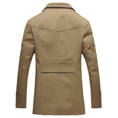 Epaulet Design Single Breasted Turndown Collar JacketMens Jackets &amp; Coats<br>Epaulet Design Single Breasted Turndown Collar Jacket<br><br>Closure Type: Single Breasted<br>Clothes Type: Jackets<br>Collar: Turn-down Collar<br>Material: Cotton, Polyester<br>Occasion: Going Out, Casual<br>Package Contents: 1 x Jacket<br>Season: Winter, Fall<br>Shirt Length: Regular<br>Sleeve Length: Long Sleeves<br>Weight: 0.9300kg