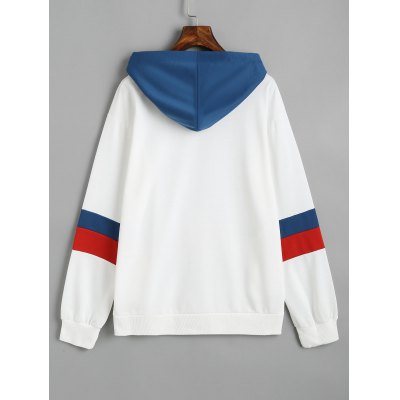 Color Block Oversized Drawstring HoodieSweatshirts &amp; Hoodies<br>Color Block Oversized Drawstring Hoodie<br><br>Clothing Style: Hoodie<br>Material: Cotton, Polyester<br>Package Contents: 1 x Hoodie<br>Pattern Style: Patchwork<br>Shirt Length: Regular<br>Sleeve Length: Full<br>Weight: 0.4600kg