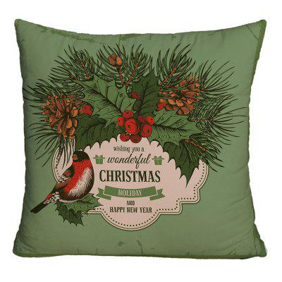 Navidad Graphic Decorativo Square Throw Pillow Case