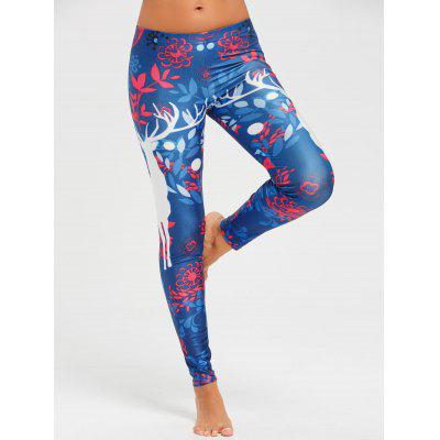Christmas Elk LeggingsPants<br>Christmas Elk Leggings<br><br>Material: Polyester<br>Package Contents: 1 x Leggings<br>Pattern Type: Others<br>Style: Fashion<br>Waist Type: Mid<br>Weight: 0.2300kg