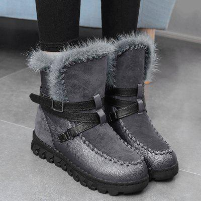Platform Color Block Faux Fur Ankle BootsWomens Boots<br>Platform Color Block Faux Fur Ankle Boots<br><br>Boot Height: Ankle<br>Boot Type: Fashion Boots<br>Closure Type: Slip-On<br>Embellishment: Buckle<br>Gender: For Women<br>Heel Height: 3.5CM<br>Heel Height Range: Low(0.75-1.5)<br>Heel Type: Platform<br>Package Contents: 1 x Boots (pair)<br>Pattern Type: Patchwork<br>Platform Height: 2.5CM<br>Season: Spring/Fall, Winter<br>Shoe Width: Medium(B/M)<br>Toe Shape: Round Toe<br>Upper Material: Synthetic<br>Weight: 1.1200kg