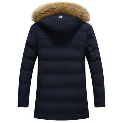 Faux Fur Hood Winter Puffer CoatMens Jackets &amp; Coats<br>Faux Fur Hood Winter Puffer Coat<br><br>Clothes Type: Padded<br>Collar: Hooded<br>Material: Cotton, Polyester<br>Package Contents: 1 x Coat<br>Season: Winter<br>Shirt Length: Regular<br>Sleeve Length: Long Sleeves<br>Style: Casual, Streetwear, Fashion<br>Weight: 1.3300kg