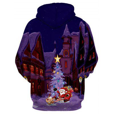 Reindeer Castle Santa Clause Christmas HoodieMens Hoodies &amp; Sweatshirts<br>Reindeer Castle Santa Clause Christmas Hoodie<br><br>Clothes Type: Hoodie<br>Material: Polyester<br>Occasion: Going Out, Daily Use, Casual<br>Package Contents: 1 x Hoodie<br>Patterns: 3D,Print<br>Shirt Length: Regular<br>Sleeve Length: Full<br>Style: Novelty<br>Thickness: Regular<br>Weight: 0.5500kg