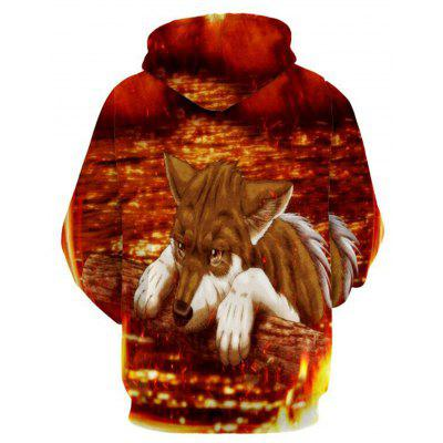 Fox 3D Animal Print HoodieMens Hoodies &amp; Sweatshirts<br>Fox 3D Animal Print Hoodie<br><br>Clothes Type: Hoodie<br>Material: Polyester<br>Occasion: Going Out, Daily Use, Casual<br>Package Contents: 1 x Hoodie<br>Patterns: 3D,Animal,Print<br>Shirt Length: Regular<br>Sleeve Length: Full<br>Style: Fashion<br>Thickness: Regular<br>Weight: 0.5500kg
