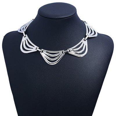 Alloy Floral Fake Collar NecklaceNecklaces &amp; Pendants<br>Alloy Floral Fake Collar Necklace<br><br>Gender: For Women<br>Item Type: Fake collar Necklace<br>Length: 41CM<br>Metal Type: Alloy<br>Package Contents: 1 x Necklace<br>Shape/Pattern: Floral<br>Style: Trendy<br>Weight: 0.0400kg
