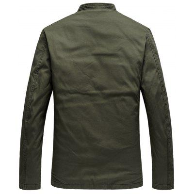 Embroidery Winter Warm Chinese JacketMens Jackets &amp; Coats<br>Embroidery Winter Warm Chinese Jacket<br><br>Closure Type: Single Breasted<br>Clothes Type: Jackets<br>Collar: Mandarin Collar<br>Crafts: Embroidery<br>Material: Polyester, Cotton<br>Occasion: Going Out, Daily Use, Casual , Holiday<br>Package Contents: 1 x Jacket<br>Season: Winter, Fall<br>Shirt Length: Regular<br>Sleeve Length: Long Sleeves<br>Style: Vintage, Streetwear, Fashion, Casual<br>Weight: 0.9800kg