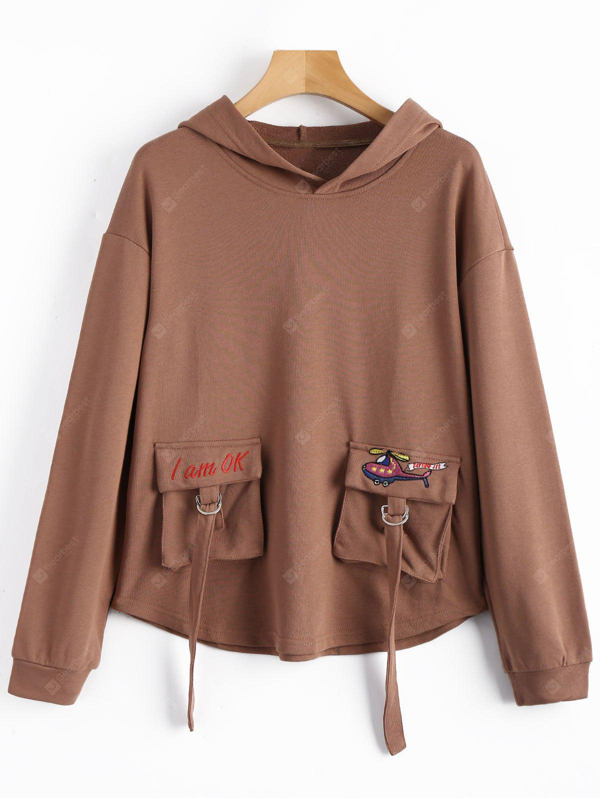 Front Pockets Hoodie