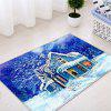 Forest House Pattern Water Absorbing Area Rug - COLORMIX