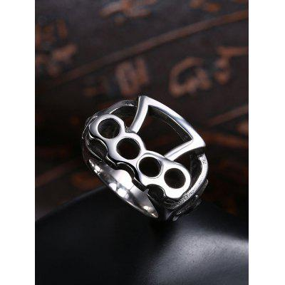 Gothic Style Titanium Steel Rolling Biker RingRings<br>Gothic Style Titanium Steel Rolling Biker Ring<br><br>Gender: For Men<br>Metal Type: Stainless Steel<br>Package Contents: 1 x Ring<br>Shape/Pattern: Geometric<br>Style: Gothic<br>Weight: 0.0133kg