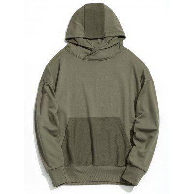 Kangaroo Pocket Drop Shoulder Mens Hoodie