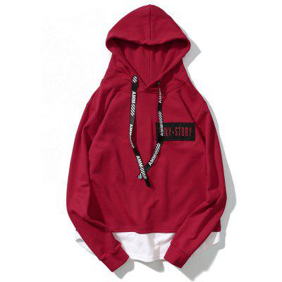 Patch Design Streetwear Mens Hoodie