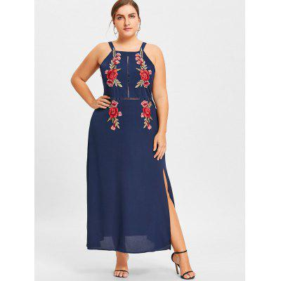Plus Size Floral Embroidered Hollow Out DressPlus Size Dresses<br>Plus Size Floral Embroidered Hollow Out Dress<br><br>Dresses Length: Ankle-Length<br>Embellishment: Embroidery<br>Material: Polyester<br>Neckline: Square Collar<br>Package Contents: 1 x Dress<br>Pattern Type: Floral<br>Season: Fall, Spring<br>Silhouette: A-Line<br>Sleeve Length: Sleeveless<br>Style: Casual<br>Weight: 0.3550kg<br>With Belt: No