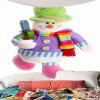 Colorful Snowman Printed Waterproof Wall Tapestry - COLORFUL