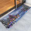 Christmas Trees Gifts Pattern Water Absorption Area Rug - COLORMIX