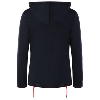 Lace Up Zipper Up HoodieSweatshirts &amp; Hoodies<br>Lace Up Zipper Up Hoodie<br><br>Material: Polyester<br>Package Contents: 1 x Hoodie<br>Pattern Style: Patchwork<br>Season: Fall, Spring<br>Shirt Length: Regular<br>Sleeve Length: Full<br>Style: Fashion<br>Weight: 0.4000kg
