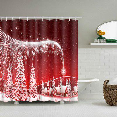 Christmas Snowscape Print Waterproof Polyester Shower CurtainShower Curtain<br>Christmas Snowscape Print Waterproof Polyester Shower Curtain<br><br>Materials: Polyester<br>Number of Hook Holes: W59 inch*L71 inch: 10; W71 inch*L71 inch: 12; W71 inch*L79 inch: 12<br>Package Contents: 1 x Shower Curtain 1 x Hooks (Set)<br>Products Type: Shower Curtains<br>Style: Festival